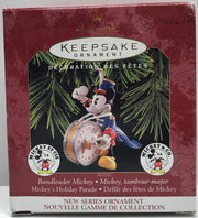 TAS038235 - 1997 Hallmark Keepsake Christmas Ornament Bandleader Mickey