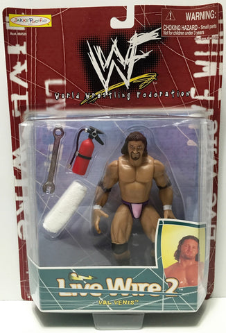 (TAS034946) - 1998 Jakks Pacific WWF Live Wire 2 Series Figure - Val Venis, , Action Figure, Wrestling, The Angry Spider Vintage Toys & Collectibles Store  - 1