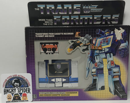 TAS040463 - 1984 Hasbro The Transformers Decepticon Communicator Soundwave