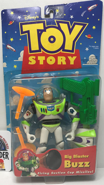 TAS040477 - 1998 Mattel Disney Toy Story Big Blaster Buzz Action Figure