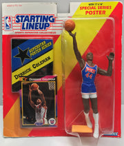 TAS038254 - 1992 Kenner Starting Lineup NBA - Derrick Coleman