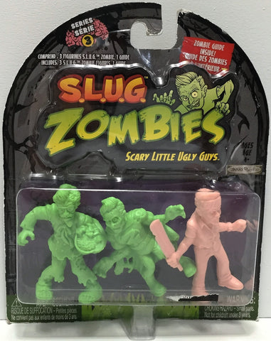 (TAS034872) - 2012 Jakks S.L.U.G. Zombies - Riley, Crispy, Hero, , Action Figure, Jakks Pacific, The Angry Spider Vintage Toys & Collectibles Store  - 1