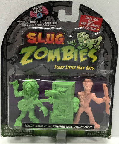 (TAS034874) - 2012 Jakks S.L.U.G. Zombies - Jamaica, Dennis, Sampson, , Action Figure, Jakks Pacific, The Angry Spider Vintage Toys & Collectibles Store  - 1