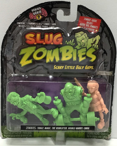 (TAS034873) - 2012 Jakks S.L.U.G. Zombies - Magic, Deadlifter, Carol, , Action Figure, Jakks Pacific, The Angry Spider Vintage Toys & Collectibles Store  - 1