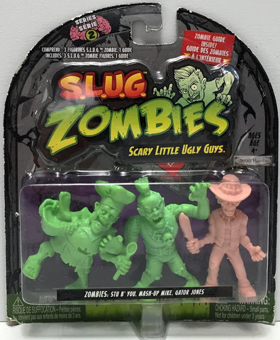 (TAS034875) - 2012 Jakks S.L.U.G. Zombies - Stu, Mike, Gator Jones, , Action Figure, Jakks Pacific, The Angry Spider Vintage Toys & Collectibles Store  - 1
