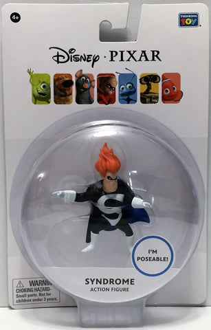 (TAS034756) - Thinkway Toys Disney Pixar Action Figure - Syndrome, , Action Figure, Disney, The Angry Spider Vintage Toys & Collectibles Store  - 1