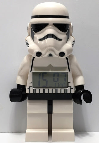 (TAS034769) - 2010 Lucasfilm Lego Star Wars Figure Alarm Clock - Stormtrooper, , Watches, Clocks, Timepieces, Star Wars, The Angry Spider Vintage Toys & Collectibles Store  - 1