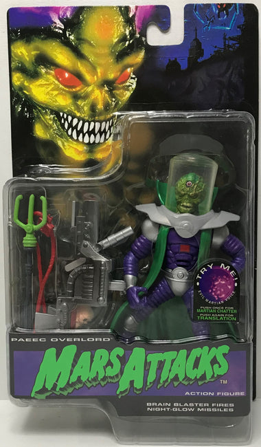 TAS040532 - 1996 Trendmasters Mars Attacks Action Figure - Paeec Overlord
