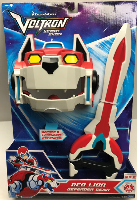 TAS038273 - 2017 Playmates Toys Voltron Red Lion Defender Gear