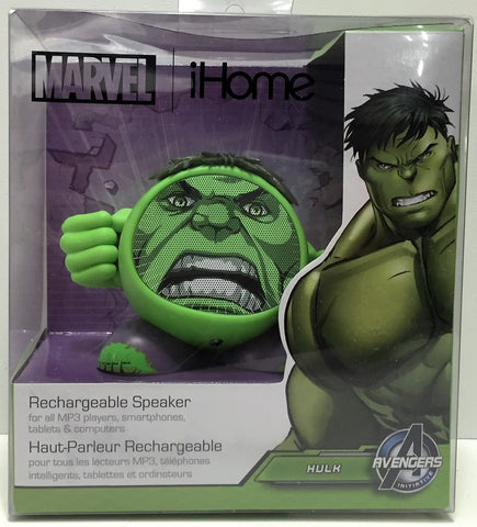 (TAS034770) - 2013 Marvel The Avengers iHome Rechargable Speaker - Hulk, , Other, The Avengers, The Angry Spider Vintage Toys & Collectibles Store  - 1