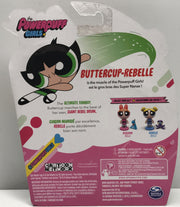 TAS038276 - 2016 Spin Master Powerpuff Girls - Buttercup Rebelle Action Doll