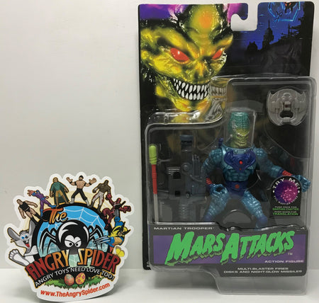 TAS040539 - 1996 Trendmasters Mars Attacks Action Figure - Martian Trooper