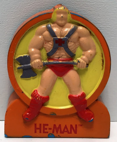(TAS034774) - 1984 Masters Of The Universe Used He-Man Pencil Sharpener - He-Man, , Pencil, MOTU, The Angry Spider Vintage Toys & Collectibles Store  - 1