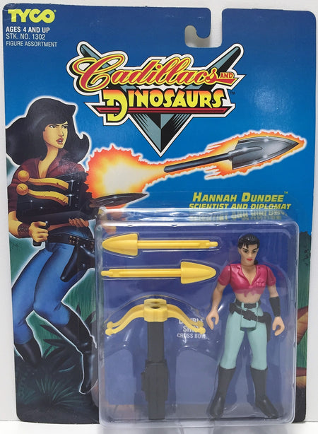 (TAS034779) - 1993 Tyco Cadillacs and Dinosaurs Action Figure - Hannah Dundee, , Action Figure, Tyco, The Angry Spider Vintage Toys & Collectibles Store  - 1