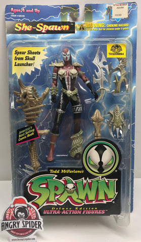 TAS038354 - 1996 McFarlane Toys She-Spawn Action Figure