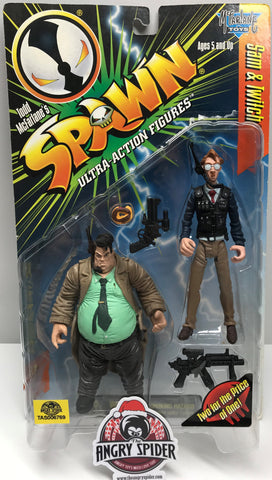 TAS038356 - 1996 McFarlane Toys Sam & Twitch Spawn Figures