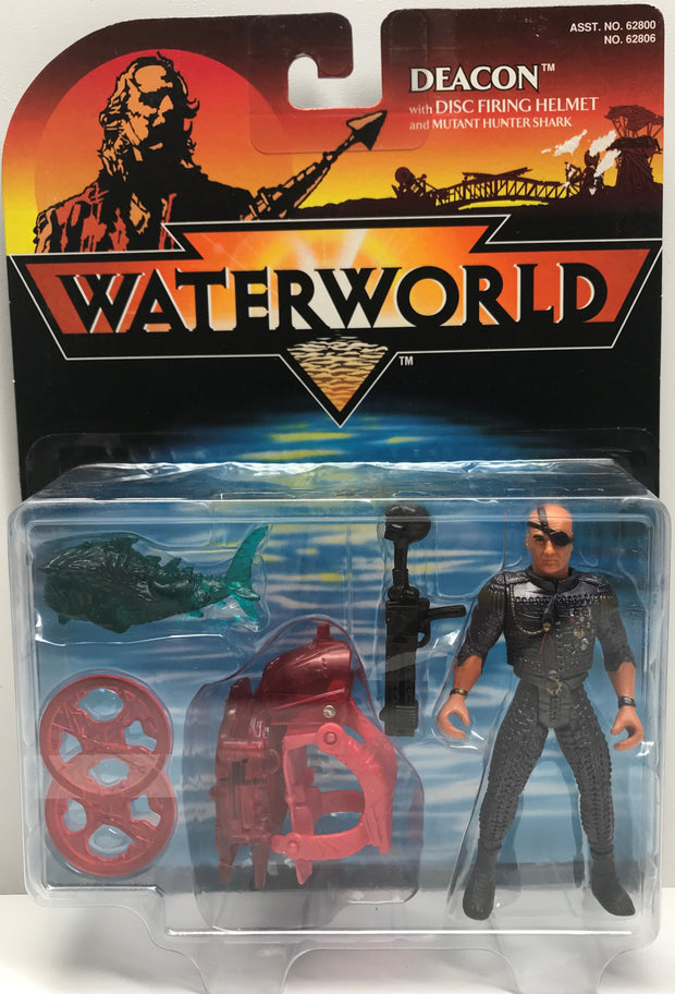 TAS038501 - 1995 Kenner Waterworld - Deacon Figure