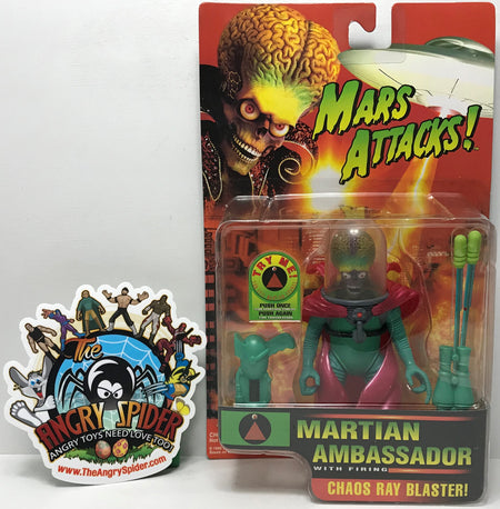 TAS040602 - 1996 Trendmasters Mars Attacks! - Martian Ambassador Chaos Ray
