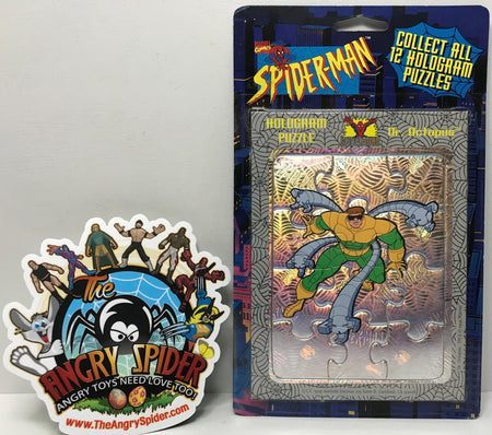 TAS040645 - 1996 Marvel Comics Spider-Man Hologram Puzzle - Dr. Octopus