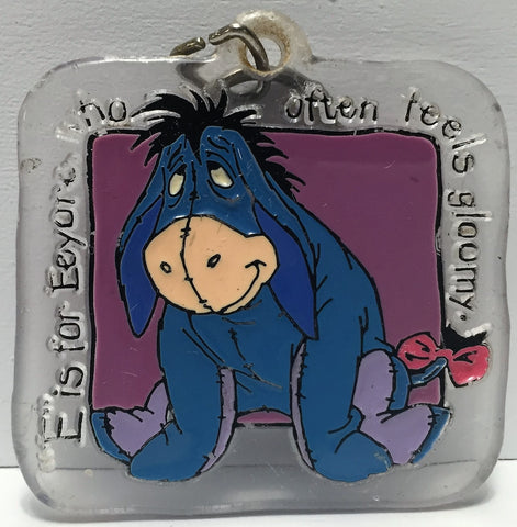 (TAS035015) - Disney Winnie the Pooh Keychain - Eeyore, , Keychain, Disney, The Angry Spider Vintage Toys & Collectibles Store  - 1