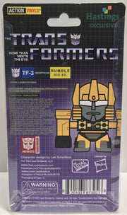 TAS037878 - 2015 Hasbro The Transformers Action Vinyls - TF-3 Rumble