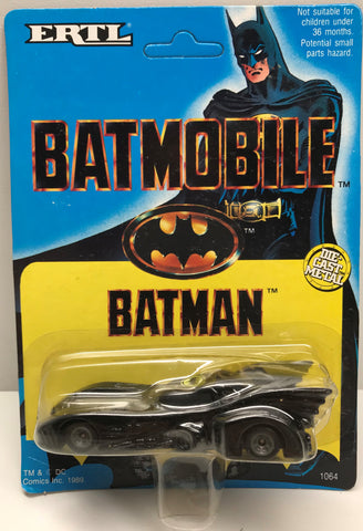 TAS037896 - 1989 ERTL DC Comics Batman Die-Cast Batmobile