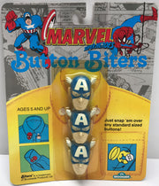 TAS037907 - 1991 Brookside Button Biters - Captain America