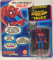 "TAS037934 - 1991 Toy Biz Electronic The Amazing Spider-Man ""Talks"""