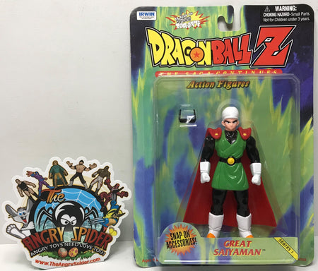 TAS040732 - 1999 Irwin Toy Dragonball Z The Saga Continues - Great Saiyaman