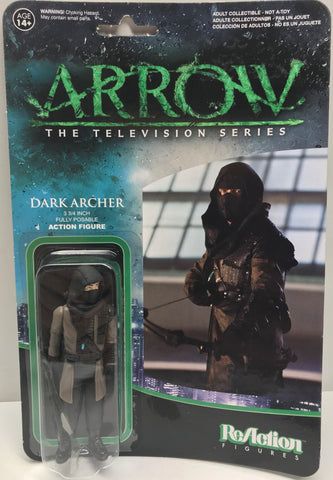 TAS037939 - 2015 Funko ReAction Arrow - Dark Archer Figure