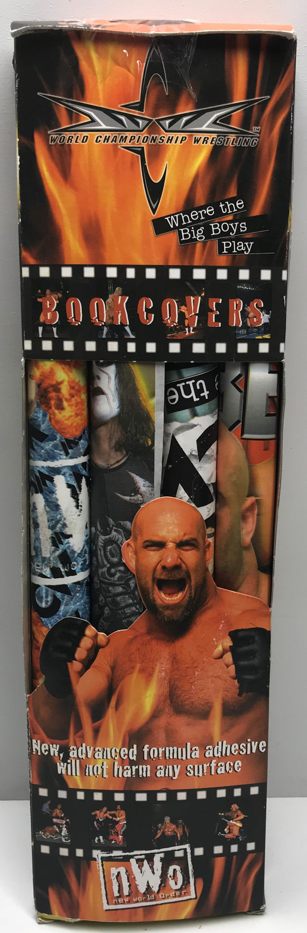 TAS037941 - 2000 WCW Wrestling Book Covers - Goldberg