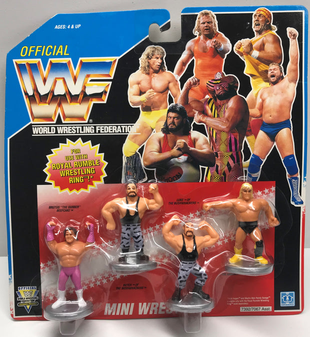 TAS037950 - 1991 Hasbro WWF Royal Rumble Mini Wrestlers