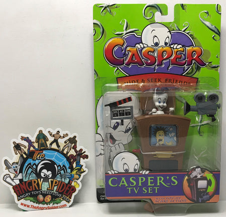 TAS040783 - 1997 Trendmasters Casper Hide & Seek Friends Casper's TV Set
