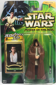 (TAS033205) - 2000 Hasbro Star Wars Power Of The Jedi Obi-Wan Kenobi Figure, , Action Figure, Star Wars, The Angry Spider Vintage Toys & Collectibles Store  - 1