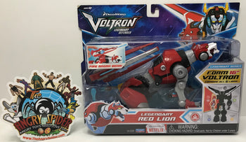 TAS040786 - 2017 Playmates Toys Voltron Legendary Defender Red Lion