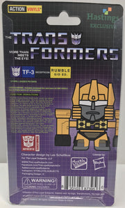TAS037953 - 2015 Hasbro The Transformers Action Vinyls TF-3 Rumble