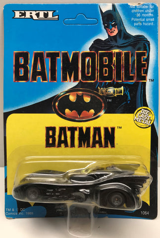 TAS037954 - 1989 ERTL Batman Die-Cast Metal Batmobile
