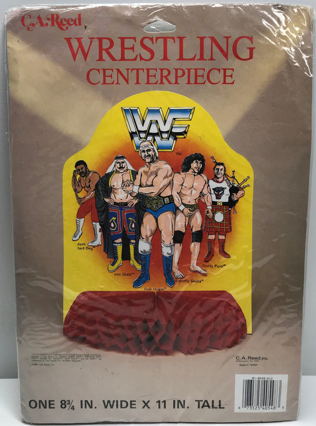 TAS037958 - 1985 Titan Sports WWF WWE Wrestling Centerpiece