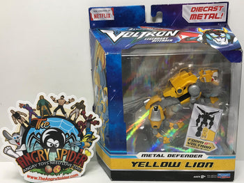 TAS040788 - 2017 Playmates Toys Voltron Legendary Defender Metal Yellow Lion