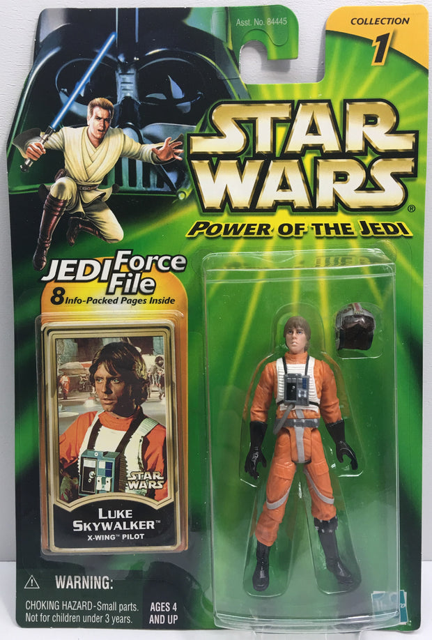 (TAS033211) - 2000 Hasbro Star Wars Power Of The Jedi Luke SkyWalker X-Wing, , Action Figure, Star Wars, The Angry Spider Vintage Toys & Collectibles Store  - 1