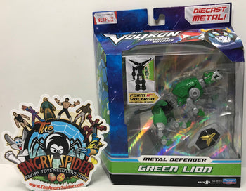 TAS040790 - 2017 Playmates Toys Voltron Legendary Defender Metal Green Lion