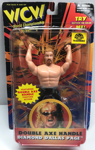 TAS037909 - 1998 OSFT WCW Double Axe Handle - Diamond Dallas Page
