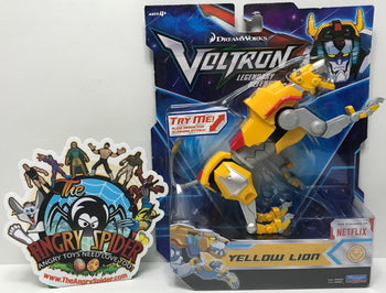 TAS040791 - 2017 Playmates Toys Voltron Legendary Defender Yellow Lion