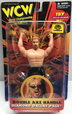 TAS037912 - 1998 OSFT WCW Double Axe Handle - Diamond Dallas Page