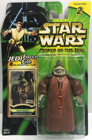 (TAS033221) - 2000 Hasbro Star Wars Power Of The Jedi Boss Nass Gungan Place, , Action Figure, Star Wars, The Angry Spider Vintage Toys & Collectibles Store  - 1