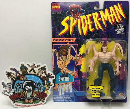 TAS040794 - 1994 Toy Biz Marvel Spider-Man Animated Series Figure - Smythe