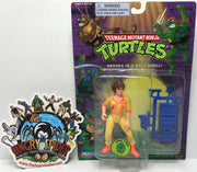 TAS040795 - 1995 Playmates Toys Teenage Mutant Ninja Turtles April O'Neil
