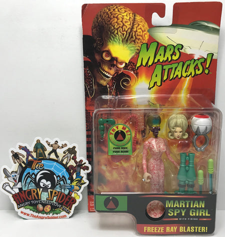 TAS040796 - 1996 Trendmasters Mars Attacks! Martian Spy Girl Action Figure