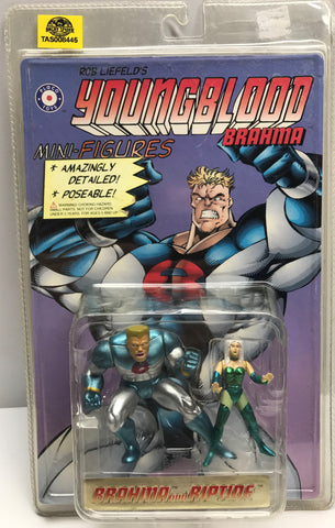 TAS037917 - 1995 Placo Toys Youngblood - Brahma and Riptide