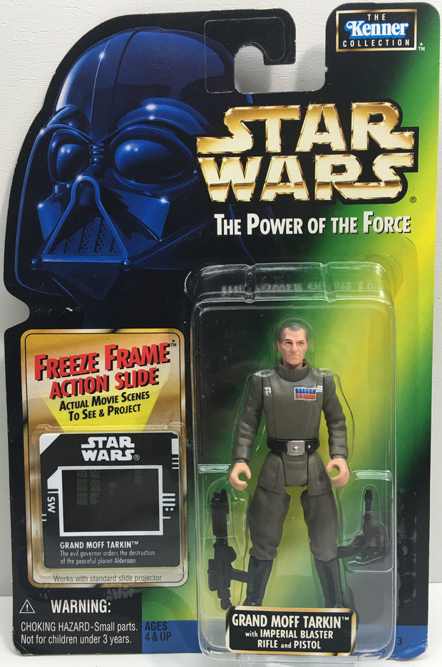 (TAS033232) - 1997 Hasbro Star Wars The Power Of The Force Grand Moff Tarkin, , Action Figure, Star Wars, The Angry Spider Vintage Toys & Collectibles Store  - 1